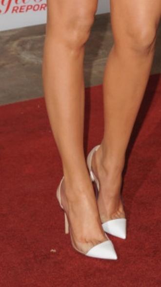 kardashians heels khloe kardashian clear panels