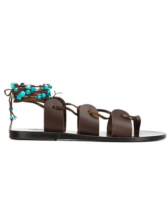 sandals brown shoes