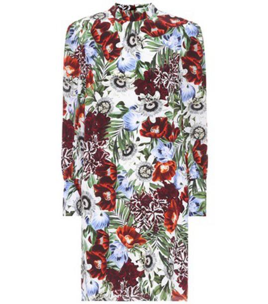 Erdem dress silk dress floral silk