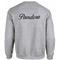 Pandoza sweatshirt back