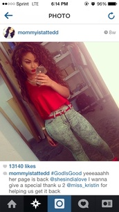 jeans,india love,india westbrooks,clothes,cute outfits,blouse,acid wash jeans,grey jeans,skinny jeans,red timberlands