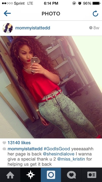 jeans india love india westbrooks clothes cute outfits blouse acid wash jeans grey jeans skinny jeans red timberlands