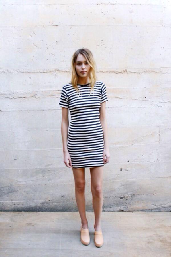 dress stripes striped dress