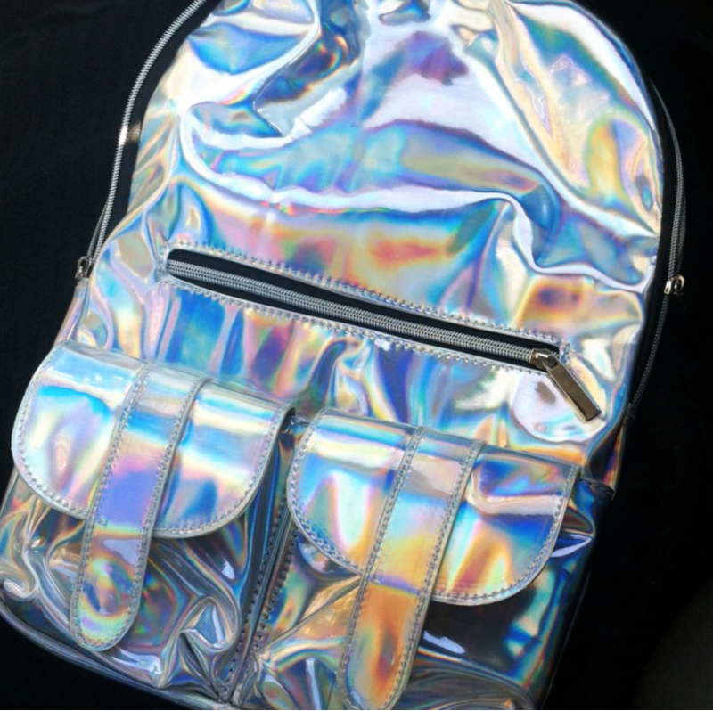 Holographic backcpack
