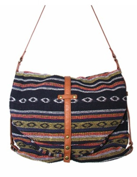 navajo bag ethnic aztec tribal pattern ikat sessun, hipster