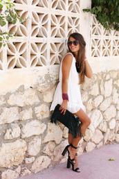 seams for a desire,blogger,jumpsuit,shoes,bag,jewels,t-shirt,sunglasses