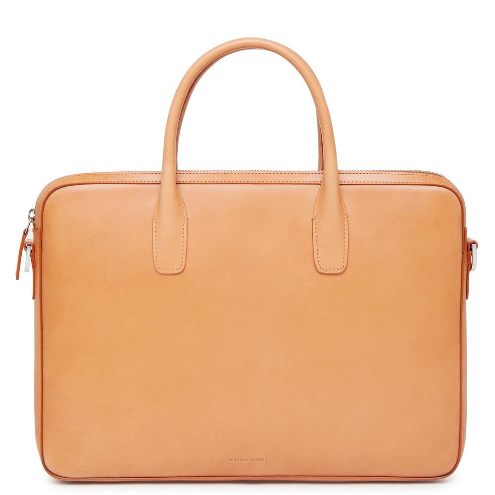 Mansur Gavriel Cammello Small Briefcase - Blu