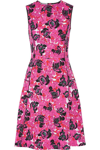 dress floral cotton print