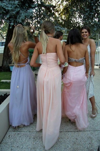 dress prom prom dress lavender pastel maxi dress maxi backless bag purple dress lace up dress lavender prom dresses elegant i need this help similar version
