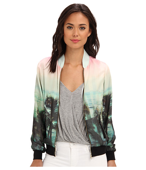 Ted Baker Boyanna Palm Tree Paradise Print Jacket Light Pink - Zappos.com Free Shipping BOTH Ways