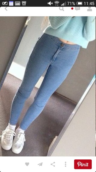 shoes white sneakers high waisted pants high waisted jeans