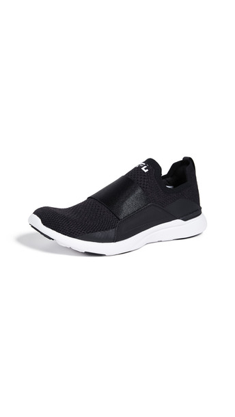 APL: Athletic Propulsion Labs TechLoom Bliss Sneakers in black / white