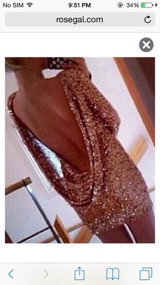 dress girly girly wishlist cute dress backless dress sequin dress gold sequins