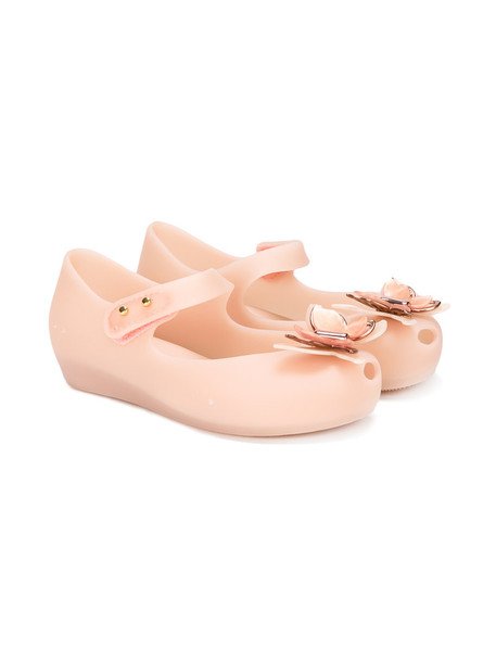 MINI MELISSA butterfly nude shoes