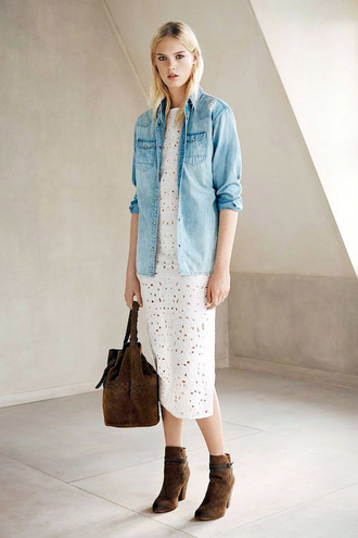 le fashion blogger shirt dress bag shoes