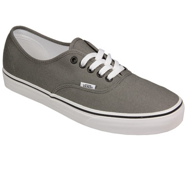 Canvas Shoes & Pumps | Grey Mens Authentic Canvas Pumps  | Topgrade Sportswear Limited
