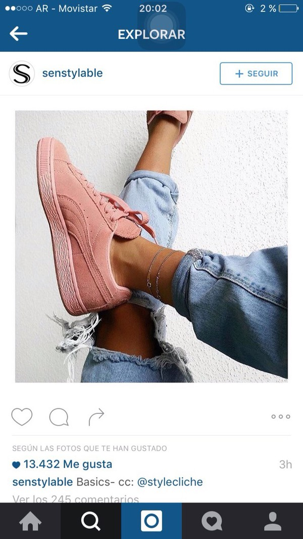 puma trainers suede classic pink