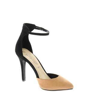 New Look | New Look - Rage - Chaussures à talon - Noir et camel chez ASOS