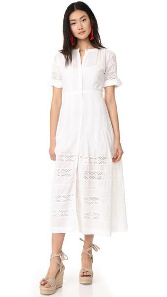 LoveShackFancy dress white