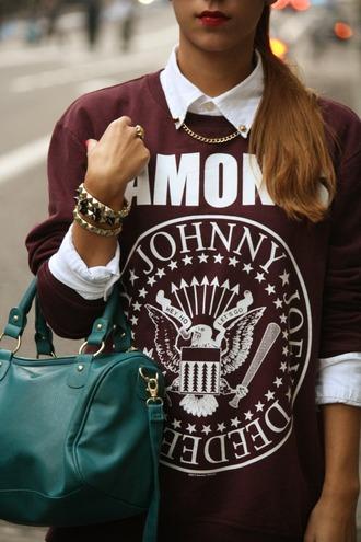 sweater ramones music shirt