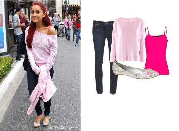 jeans ariana grande cat valentine sweater