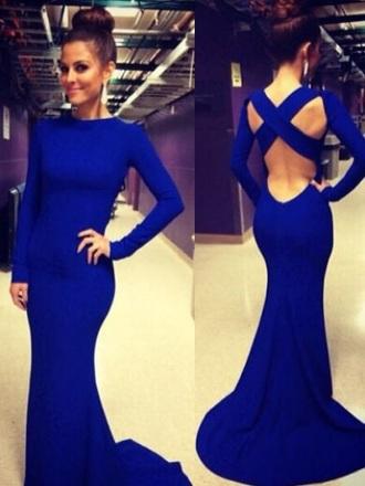 dress blue dress style sexy dress