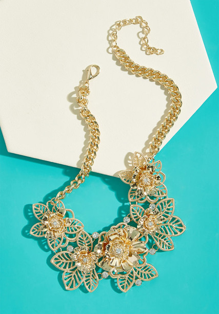 Modcloth bling statement necklace statement necklace jewels