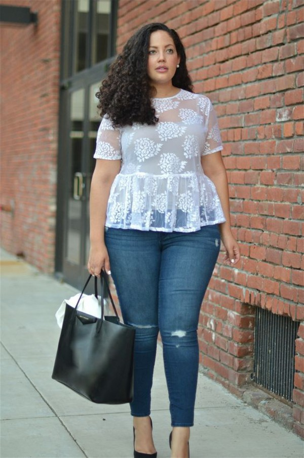 plus size curvy jeans - Jean Yu Beauty