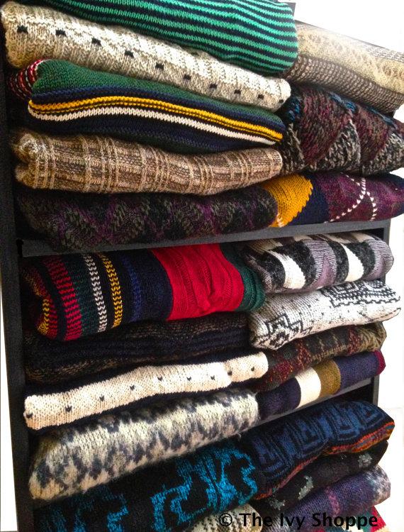 Comfy oversize vintage sweater by theivyshoppe on etsy