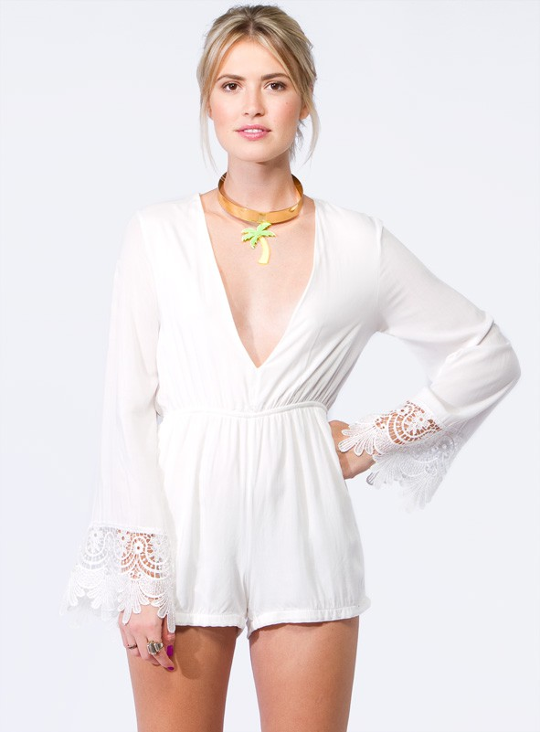 Game Of Love Playsuit