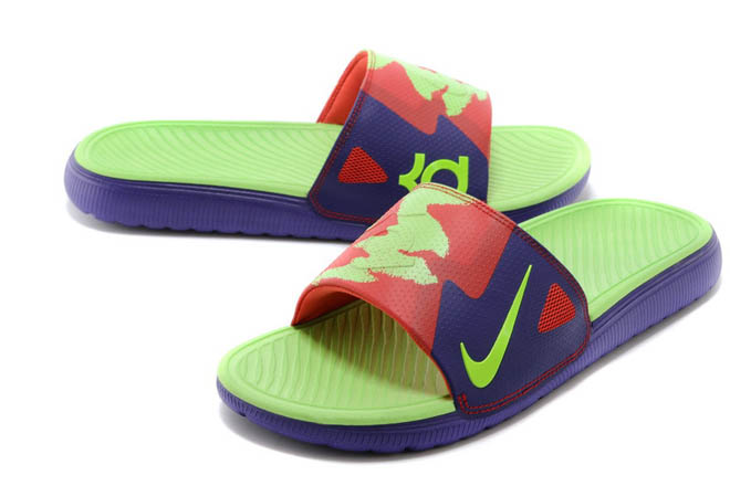 5d90d208d1c3 Mens Nike Solarsoft KD Slides Sandals Cheap Buy with Colorways ...