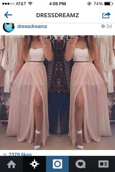 maxi dress nude dress dress cute dress