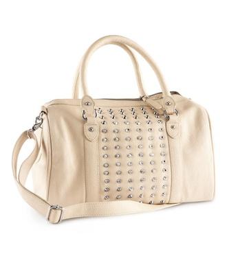 bag biege shoulder bags for women spikes