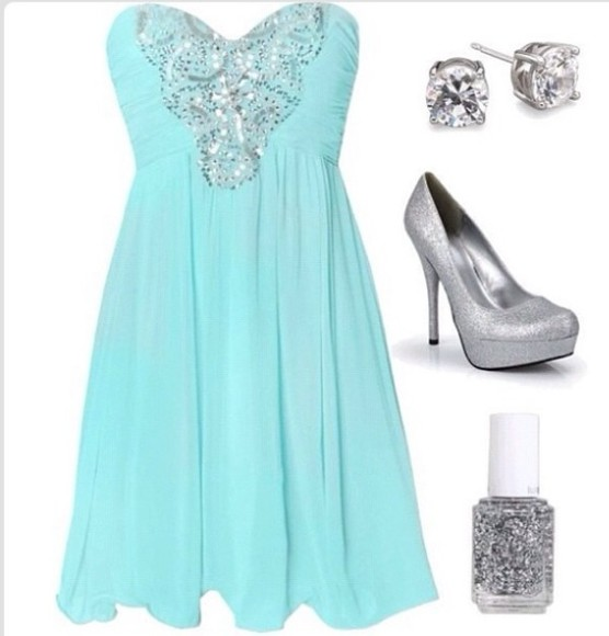blue dress blue dress sparkle tiffany blue