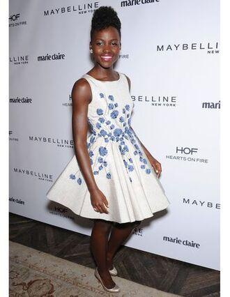 cute dress prom dress white white dress light blue blue dress lavender dress