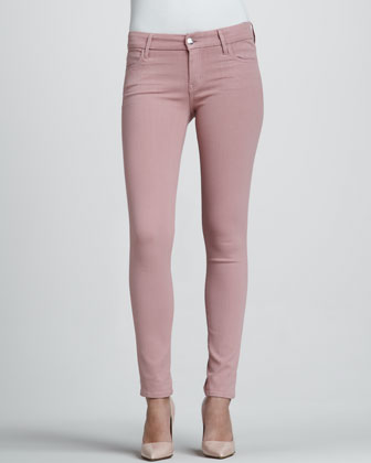 Koral Rose Coated Skinny Jeans - Neiman Marcus