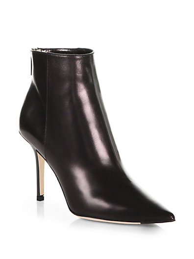 Jimmy Choo - Amore Leather Ankle Boots - Saks.com