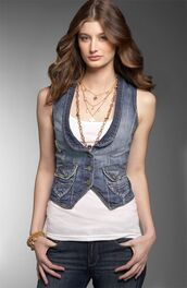 jacket,clothes,vest,denim,tight,cropped,fitted vest,denim jacket,denim vest,women