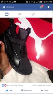 shoes,puma sneakers,puma,puma fenty,rihanna pumas,puma x rihanna
