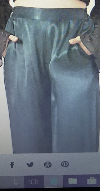 pants green satin party palazzo pants outfit new year's eve