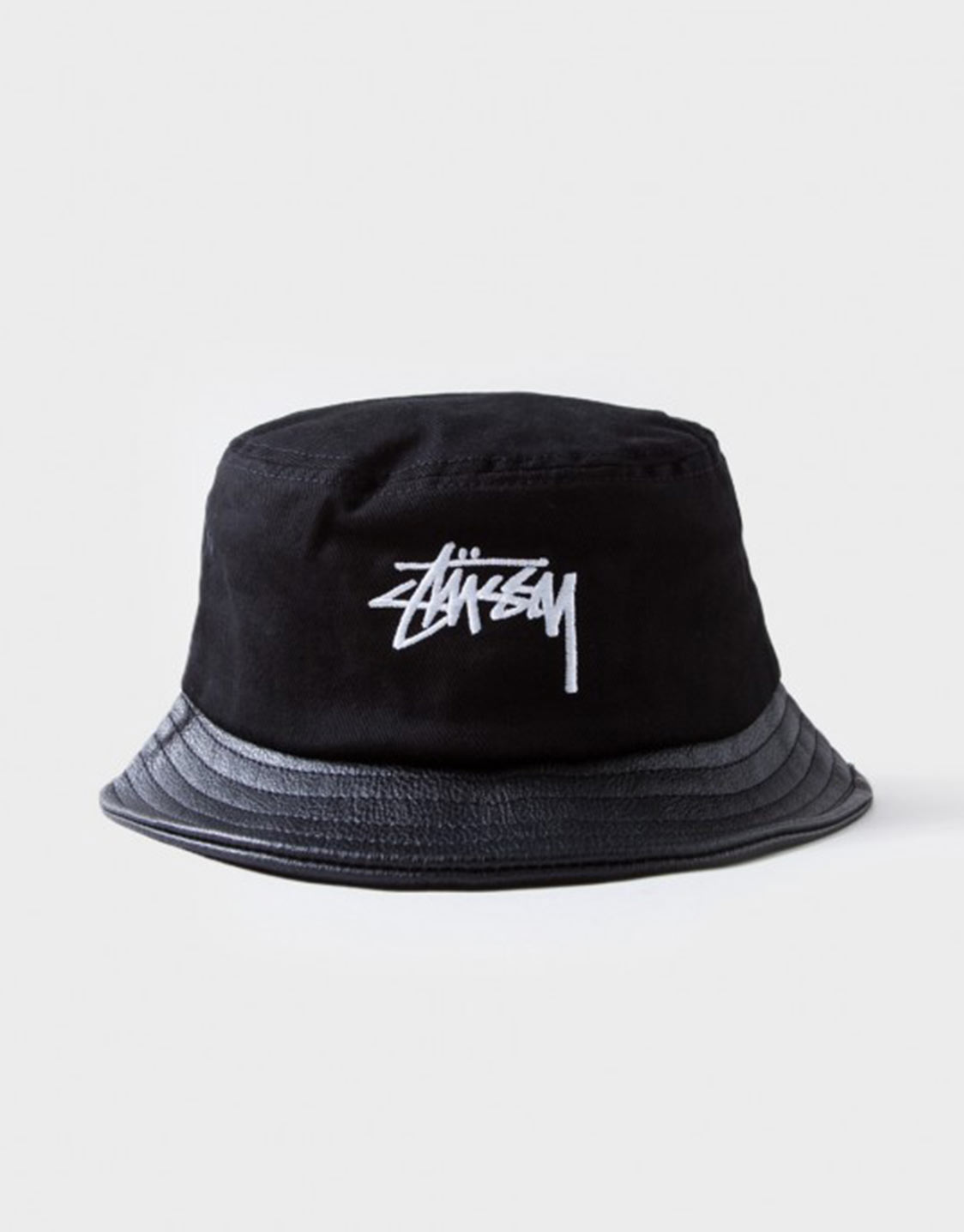 Stussy Leather brim bucket hat c8c351d4ba5
