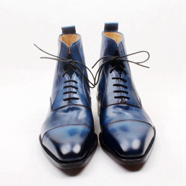 shoes blue menswear runit365 boots