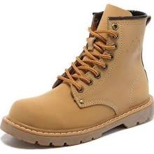 9 real leather military ankle boots women's footwear
