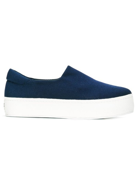 opening ceremony women sneakers cotton blue shoes