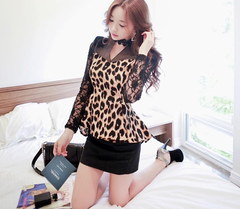 Леопардовая Блузка Купить С Доставкой