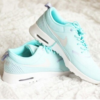 teal shoes freeruns nike glitter