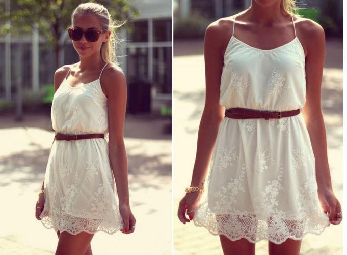 Sabrina Eyelet Dress