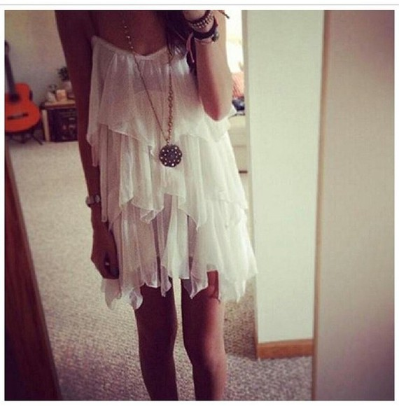 white loose fit white dress summer dress stairs