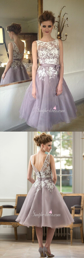 dress a-line bridesmaid dress short bridesmaid dress bridesmaid dress with white lace appliques vintage dress wedding party dress 2016 homecoming dresss