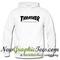 Thrasher magazine logo hoodie